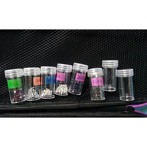 7 Colors 30/60 Bottles Diamond Painting Drill Storage Case