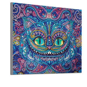 Cat with Big Eyes - Special Diamond Painting