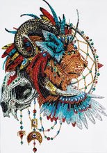 Load image into Gallery viewer, Spiritual Lion - Special Diamond Painting