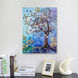 Magical Flower Tree - Special Diamond Painting