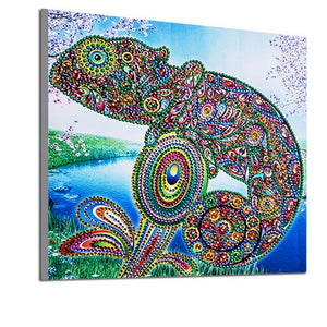 Colorful Amphibian - Special Diamond Painting