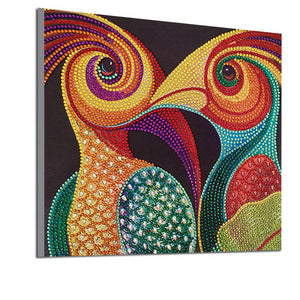 Artistic Woodpecker - Special Diamond Painting