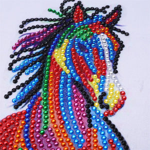 Colorful Horse Special  Diamond Painting