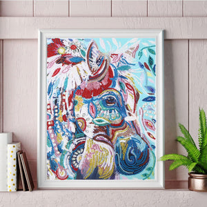 Colorful Horse - Special Diamond Painting