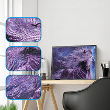 Load image into Gallery viewer, Purple Horse - Special Diamond Painting