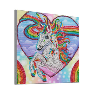 Colorful Unicorn - Special Diamond Painting