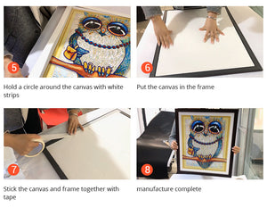 Diamond Painting Frame - SPECIAL Frame for Diamond Painting