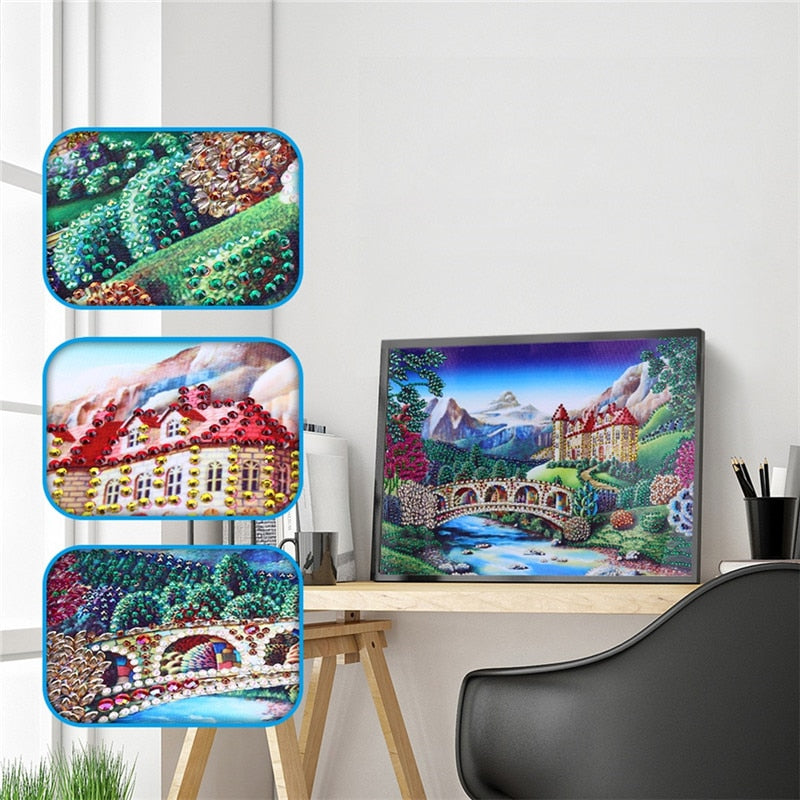 Magnificent Castle - Special Diamond Painting