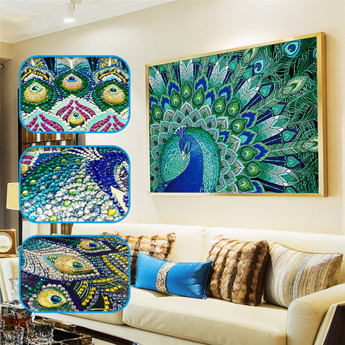 Peacock - Special Diamond Painting
