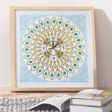 Load image into Gallery viewer, White Wall Clock - Special Diamond Painting