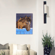 Load image into Gallery viewer, Cat Friend with Horse - Special Diamond Painting