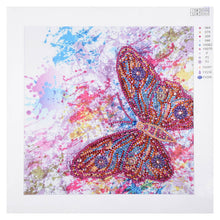 Load image into Gallery viewer, Colorful Butterfly - Special Diamond Painting