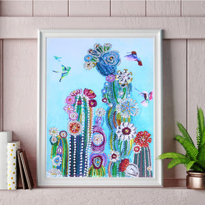 Beautiful Cactus - Special Diamond Painting