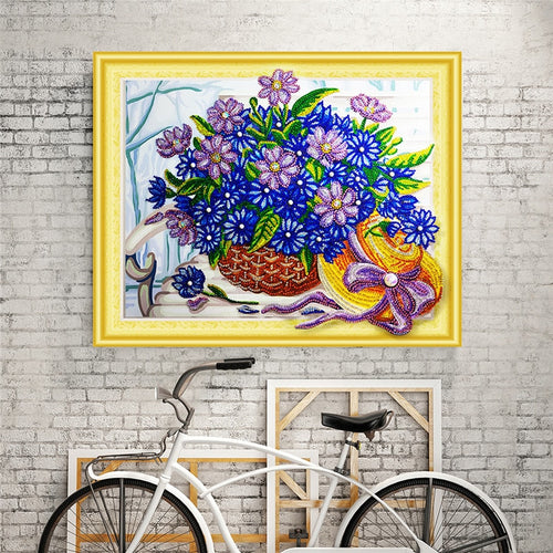 Flower Basket Special - Special Diamond Painting