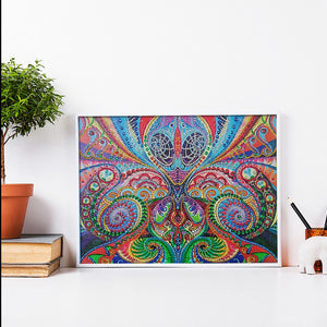 Abstract Illusion - Special Shaped Diamond Painting