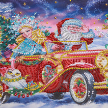 Load image into Gallery viewer, Christmas Car - Special Diamond Painting
