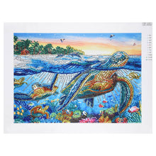 Load image into Gallery viewer, Tortoise In The Sea Scenery - Special Diamond Painting