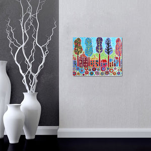 City Scenery House - Special Diamond Painting