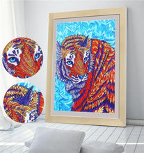 Load image into Gallery viewer, Beautiful Wild Tiger - Special Diamond Painting