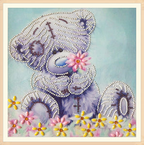 Cute Bear Pattern - Special Diamond Painting