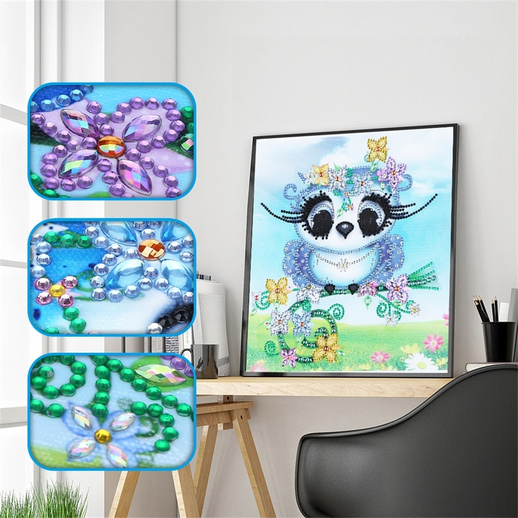 Adorable Owl - Special Diamond Painting