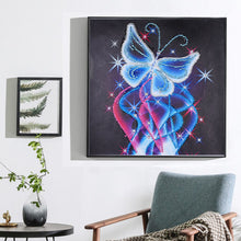 Load image into Gallery viewer, Neon Butterfly Crystal - Special Diamond Painting