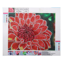 Load image into Gallery viewer, Red Flower - Special Diamond Painting
