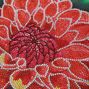 Red Flower - Special Diamond Painting