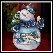Load image into Gallery viewer, Snowman Magical Globe - Special Diamond Painting
