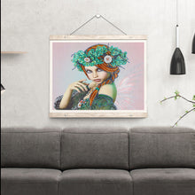 Load image into Gallery viewer, Princess of Green - Special Diamond Painting