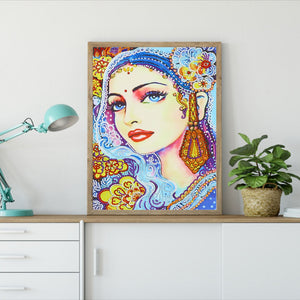 Beauty of Girl - Special Diamond Painting