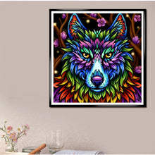 Load image into Gallery viewer, Colorful Wolf - Special Diamond Painting