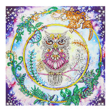 Load image into Gallery viewer, A Wise Owl - Special Diamond Painting