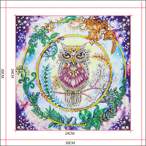 A Wise Owl - Special Diamond Painting