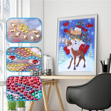 Load image into Gallery viewer, Snowman and Deer - Special Diamond Painting