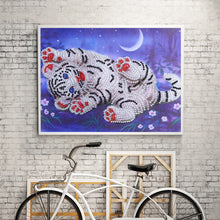 Load image into Gallery viewer, Cute Little White Tiger - Special Diamond Painting