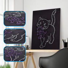 Load image into Gallery viewer, Crystal Cat Art - Special Diamond Painting