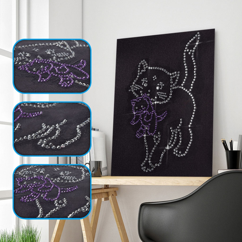 Black Cat Crystal - Special Diamond Painting