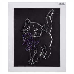Crystal Cat Art - Special Diamond Painting