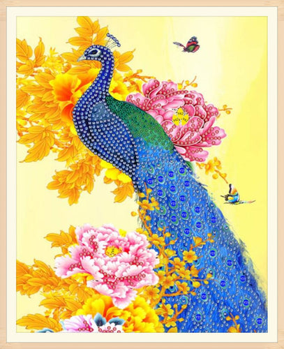 Lovely Peacock - Special Diamond Painting