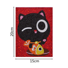 Load image into Gallery viewer, Adorable Black Cat - Special Diamond Painting