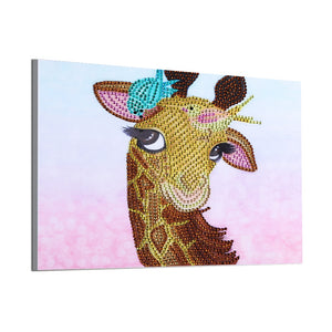 Giraffe Beauty - Special Diamond Painting
