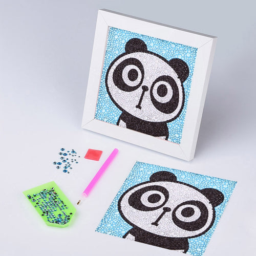 Adorable Panda - Special Diamond Painting