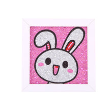 Load image into Gallery viewer, Anime White Rabbit Face - Special Diamond Painting
