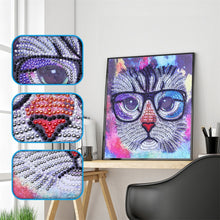 Load image into Gallery viewer, Sophisticated Kitten- Specials Diamond Painting