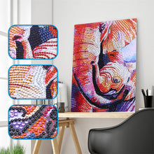Load image into Gallery viewer, Adorable Elephant Family -  Special Diamond Painting