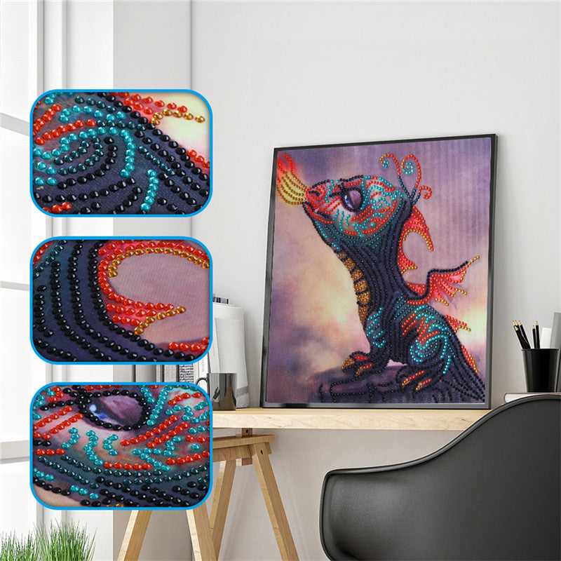 Cartoon Baby Dragon - Special  Diamond Painting