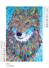 Load image into Gallery viewer, Wolf Crystal - Special Diamond Painting