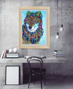 Wolf Crystal - Special Diamond Painting