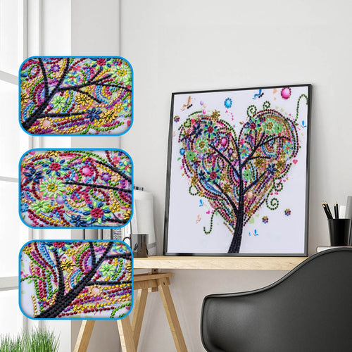 Love Tree - Special Diamond Painting